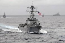Nhật Bản bày tỏ ủng hộ việc Mỹ điều tàu chiến tới Biển Đông