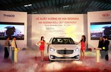 KIA Sedona lắp ráp tại thị trường Việt Nam chính thức xuất xưởng