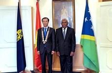 Quốc đảo Solomon mong muốn tăng cường hợp tác với Việt Nam