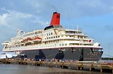 [Photo] Tàu Thanh niên Đông Nam Á và Nhật Bản cập cảng Cát Lái