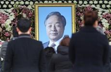10.000 người đưa tiễn cựu Tổng thống Hàn Quốc Kim Young-sam