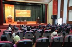 Lãnh đạo Lai Châu đối thoại với các tiểu thương chợ tạm Đoàn Kết