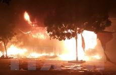 Vụ cháy chợ Phủ Lý: Hỗ trợ 12 triệu đồng cho mỗi quầy hàng