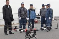 Cảnh sát Nhật Bản diễn tập bắt thiết bị bay không người lái