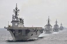 Hải quân Mỹ và Nhật Bản tập trận chung thường niên ở đảo Guam