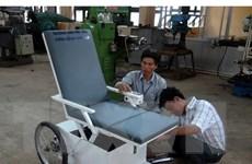 Hệ thống xe lăn cứu hộ giành giải Nhà sáng tạo Việt Nam 2015
