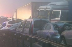 Slovenia: 50 ôtô đâm liên hoàn, gần 30 người thương vong