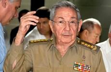 Chủ tịch Cuba Raul Castro bắt đầu thăm chính thức Pháp