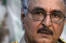 Tướng K. Hafter nhậm chức Tổng tư lệnh quân đội Libya