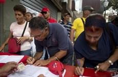 Hơn 8 triệu chữ ký phản đối Mỹ trừng phạt Venezuela