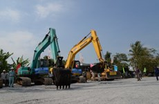 750 tỷ đồng làm đường vào Khu công nghiệp dầu khí Long Sơn