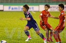"""Đội tuyển nữ Việt Nam thua """"chấp nhận được"""" trước Nhật Bản"""