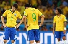 """Báo chí Brazil chế nhạo đội tuyển là """"nỗi tủi hổ của lịch sử"""""""