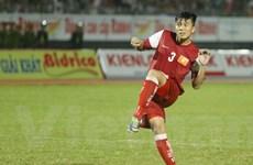[Video] Cận cảnh Mạnh Hùng diễn trò lố trước thủ môn U19 HAGL JMG