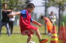 [Photo] Tưng bừng ngày hội bóng đá trẻ ở Bình Dương