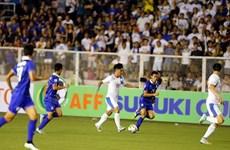 10 cầu thủ Thái Lan vẫn cầm hòa Philippines trên sân khách