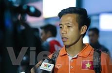 Người hùng Văn Quyết nói gì khi trở lại Hà Nội tiếp Malaysia