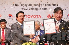 Toyota trở thành doanh nghiệp nước ngoài đầu tiên tài trợ cho V-League