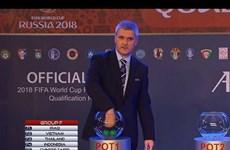 """Vòng loại World Cup: Gặp Iraq và Thái Lan, Việt Nam chạm """"tử thần"""""""