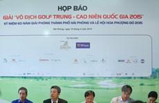 120 tay golf dự giải vô địch golf trung - cao niên quốc gia 2015