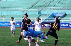 Giải nữ Đông Nam Á: Tuyển Lào gây bất ngờ trước U20 Australia