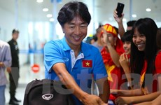 Ông Miura bất ngờ vì cổ động viên vẫn ủng hộ U23 Việt Nam