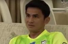 Kiatisuk và tuyển Thái Lan ăn mừng khi Việt Nam hòa Iraq