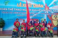Hai đoàn VĐV khuyết tật Việt Nam sang Nhật Bản tập huấn