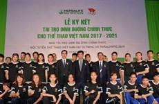 Thể thao Việt Nam được tài trợ dinh dưỡng ở Olympic Rio 2016