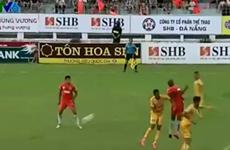 """[Video] SHB Đà Nẵng giành ngôi nhì bảng nhờ """"bàn thắng ma"""""""