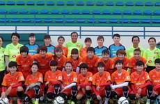 Tuyển nữ Việt Nam giao hữu với đội 30 lần vô địch Cộng hòa Séc