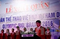 Thể thao Việt Nam xuất quân hướng tới bất ngờ tại Olympic 2016