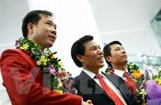 """""""Chiến thắng của Hoàng Xuân Vinh truyền cảm hứng cho cả dân tộc"""""""