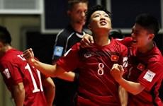 Hiệu suất ghi bàn của Futsal Việt Nam cao nhất vòng mở màn World Cup