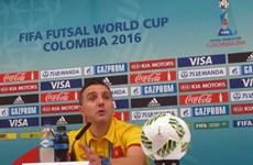 HLV Bruno Garcia: Futsal Việt Nam không thất vọng vì thất bại