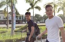 HLV Hoàng Anh Tuấn và U22 Việt Nam hội quân ở quán càphê