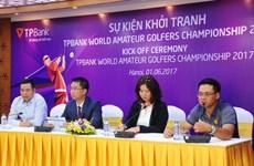 Golf thủ không chuyên Việt Nam mơ vô địch thế giới 2017