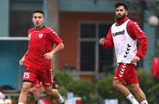 Afghanistan tự tin ngang cơ tuyển Việt Nam trên sân nhà