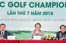 Giải golf có tổng giá trị hàng trăm tỷ đồng khai mạc ở Sầm Sơn