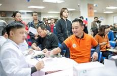 Lễ hội hiến máu 'Trao giọt hồng, sẻ chia yêu thương' tại Bệnh viện Nhi