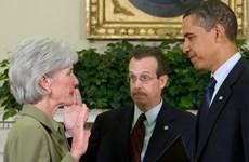 Bộ trưởng Y tế Mỹ xin lỗi vì sự cố trang mạng Obamacare