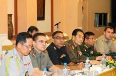 Đoàn Tùy viên quân sự các nước thăm Bộ Tư lệnh Thủ đô
