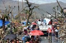 Cứu trợ người Việt tại Philippines bị ảnh hưởng của bão