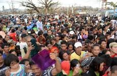 Philippines tăng cường ổn định an ninh sau bão Haiyan
