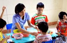 Những người thầy kiên nhẫn ở các lớp học đặc biệt