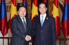 Thủ tướng hội kiến Tổng thống Tsakhiagiin Elbegdorj