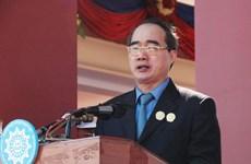 Chủ tịch MTTQ dự kỷ niệm thành lập Mặt trận Campuchia