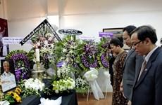 Lễ viếng cố Tổng thống Nam Phi Mandela tại TP.HCM