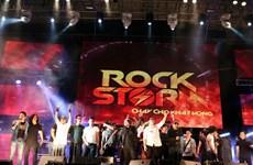 """Rockstorm """"cháy"""" trong màn mưa lạnh thành phố sông Hàn"""