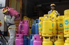 Từ 1/1/2014, giá gas giảm 43.000 đồng mỗi bình 12kg